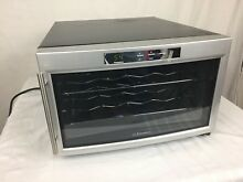 EMERSON 8 BOTTLE WINE COOLER MODEL FR24SL GLASS DOOR FRIDGE  ELECTRIC 700 WATT