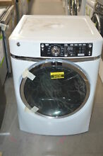 GE GFD48ESSKWW 28  White Front Load Electric Dryer NOB  34236 CLN