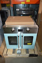 BlueStar BSEWO30ECSD 30  Light Blue Single Electric Wall Oven NOB  24147