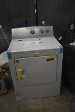 Maytag MEDC215EW 29  White Front Load Electric Dryer NOB  38629 HRT