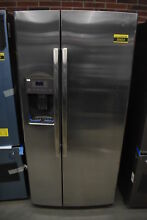 GE GSS23GSKSS 33  Stainless Side By Side Refrigerator NOB  38664 HRT