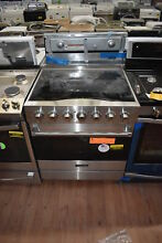 Viking RVER33015BS 30  Stainless Freestanding Electric Range NOB  28003 HRT