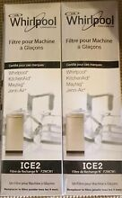 Whirlpool Ice Maker filter  2pack