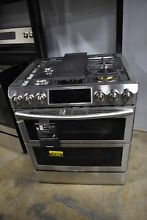 Samsung NX58K9850SS 30  Stainless Flex Duo Slide In Gas Range NOB  21429 MAD
