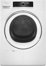 Whirlpool WHD5090GW 24  White Front Load Ventless Heat Electric Dryer  29636 MAD