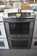 LG LWD3063BD 30  Black Stainless Double Electric Wall Oven NOB  29215 HRT