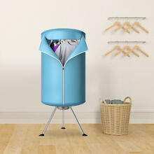 Ventless Laundry Clothes Dryer Wardrobe Portable Folding Drying Machine Heater