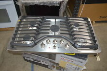 GE PGP976SETSS 36  Stainless Gas Cooktop NOB  30006 MAD