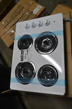 Frigidaire FFEC3005LW White Electric Cooktop NOB  19420 MAD