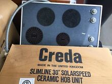 Creda 30  Solarspeed Ceramic Glass Hob Unit Build in Kitchen Stove Top Portable