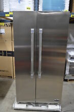 DCS RX215UJX1 36  Stainless Side By Side Refrigerator CD  278 MAD