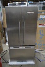 Fisher Paykel RF170ADX4 32  Stainless French Door Refrigerator CD NOB  428 MAD