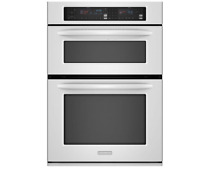 KitchenAid KEMS308SWH 30  White Combination Microwave Wall Oven NIB  13362 MAD