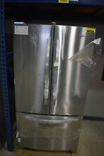 Whirlpool WRF535SMBM 36  Stainless French Door Refrigerator NOB  13955 CLW