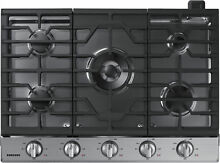 Samsung NA30K6550TS 30  Stainless Gas Cooktop NOB  32365 CLW