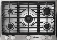 Dacor Renaissance 30 In High Altitude Gas Cooktop Stainless DCT305GS LP