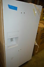 Whirlpool WRS322FDAW 33  White Side by Side Refrigerator NOB T2  15384 CLW