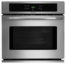 Frigidaire FFEW3025PS   30  StainlesSteel Electric Single Wall Oven