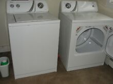 Washer and dryer   Admiral