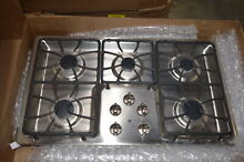 GE JGP633SETSS 36  Stainless 5 Sealed Burners Gas Cooktop NOB  29489 MAD