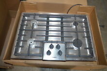 Bosch NGM5055UC 31  Stainless 4 Sealed Burners Cooktop NOB  12047 MAD