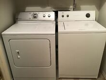 Maytag Centennial Electric Dryer   And Top Loading Roper Washer White