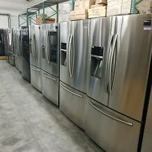 NOB Samsung RF28HFEDBSR Stainless Steel French Door Refrigerator 28 cubic foot