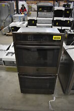 GE Profile PK7500BLTS 27  Black Stainless Double Wall Oven NOB  39414 CLN