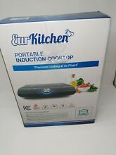 EurKitchen Portable Induction Precision Temperature Control Fast Cooking