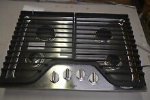 Whirlpool WCG75US0DS 30  Stainless Gas Cooktop w 4 Burners  6173 T2