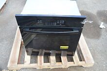 GE JK3000DFBB 27  Black Single Electric Wall Oven w  Steam Self Cleaning  17167