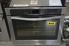 Whirlpool WOS51EC0AS 30  Stainless Single Electric Wall Oven NOB  33412 CLW