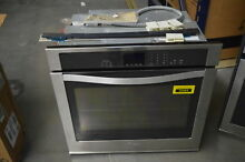 Whirlpool WOS51EC0AS 30  Stainless Single Electric Wall Oven NOB  32484 CLN
