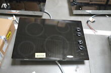 Whirlpool W5CE3024XB 30  Black Electric Cooktop NOB  30924 CLW