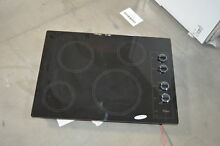 Whirlpool W5CE3024XB 30  Black Electric Smoothtop Cooktop NOB  27755 HL