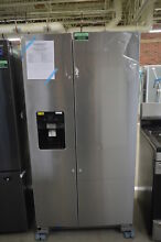 Whirlpool WRS325SDHZ 36  Stainless Side By Side Refrigerator NOB  34238 CLN
