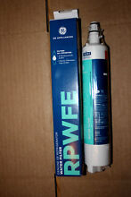 Genuine GE Refrigerator water filter RPWFE
