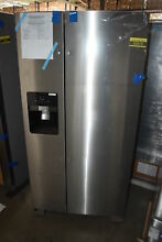 Whirlpool WRS321SDHZ 33  Stainless Side By Side Refrigerator NOB  31597 MAD