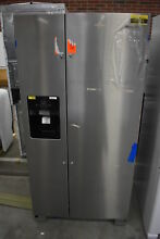 Whirlpool WRS321SDHZ 33  Stainless Side By Side Refrigerator NOB  36555 CLN