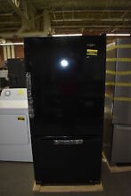 Whirlpool WRB322DMBB 33  Black Bottom Freezer Refrigerator NOB   39005 HRT