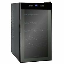 Ivation 18 Bottle Dual Zone Thermoelectric Red   White Wine Cooler Chiller