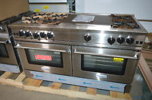 BlueStar RNB606FTV2 60  Stainless Freestanding Natural Gas Range NOB  24145