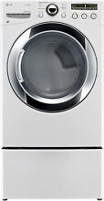 LG DLEX3250W 27  White Front Load Electric Dryer NIB  32394 MAD