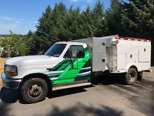 1992 Pringle Power Vac Air duct dryer vent cleaning truck