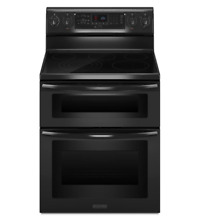 KitchenAid KERS505XBL 30  Black Freestanding Electric Range NIB  9534 MAD