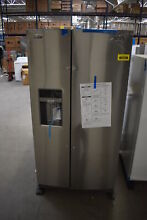 Maytag MSS26C6MFZ 36  Stainless Side By Side Refrigerator NOB  39949 HRT
