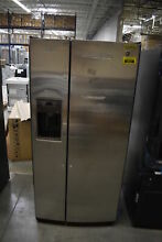 GE GSE23GSKSS 33  Stainless Side By Side Refrigerator  40037 MAD