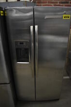 GE GSS25LSLSS 36  Stainless Side By Side Refrigerator NOB  40060 CLW