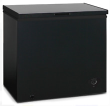Deep Freezer Chest Compact 7 Cu Feet Black Dorm Apartment Home Food Storage