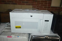 GE JVM6175DKWW 30  White Over The Range Microwave NOB  25887 CLW